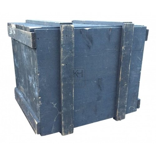 Black Dock Packing Crate