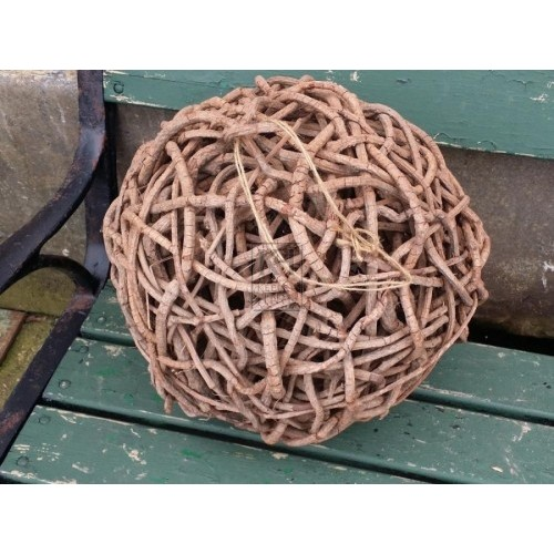 Large wicker ball