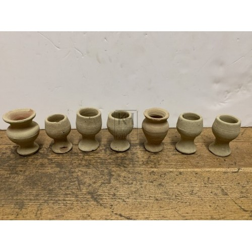 Miniature Clay Goblets