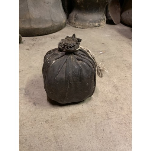 Squared Leather Bottle