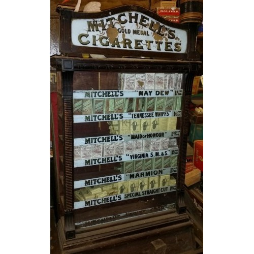Mitchells Cigarettes display unit
