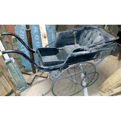 Worn period pushchair