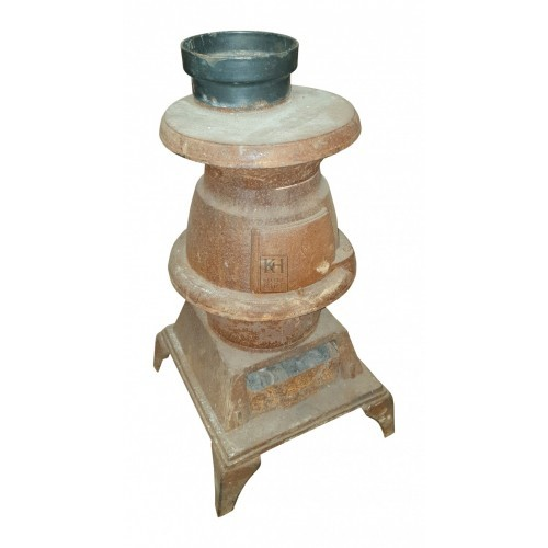Small rusty stove
