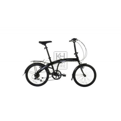 Modern folding bicycle