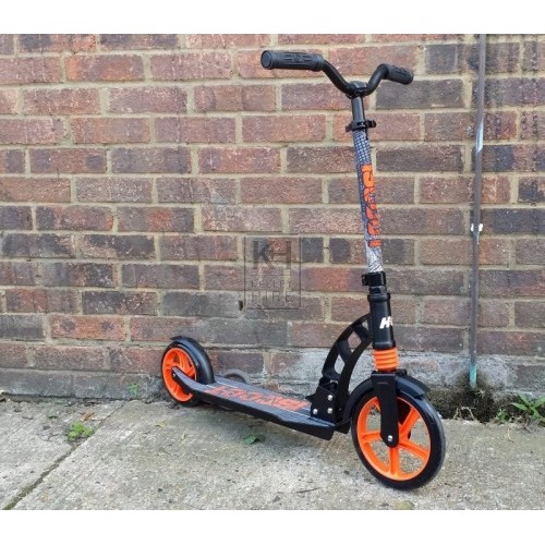 Black & orange adult scooter