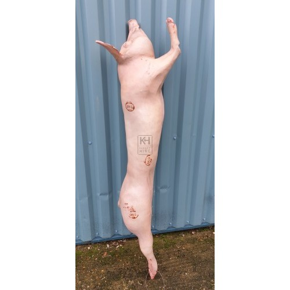 Side of bacon half pig