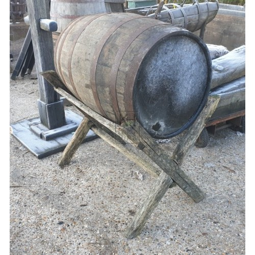 Large barrel on X-frame