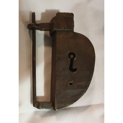 Large shaped padlock