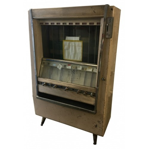 1960s snack vending machine