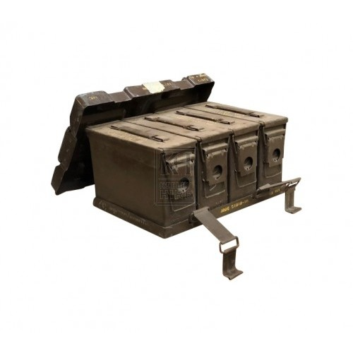 Large ammo crate with 4 boxes