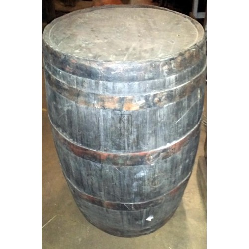 Large rubber barrel
