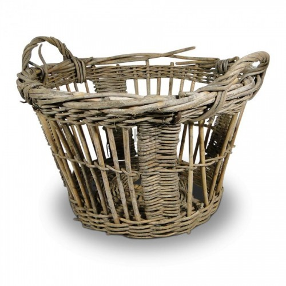 Wicker Fish Basket