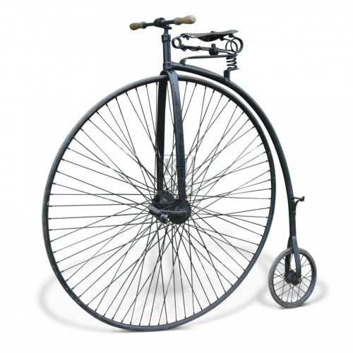 Mock Penny Farthing bicycle