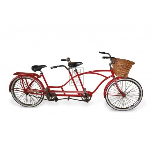 Red Tandem Bicycle