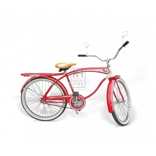 50s Red American Columbia Bicycle