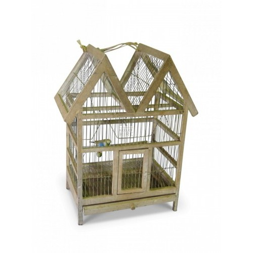 Wood And Wire Birdcage