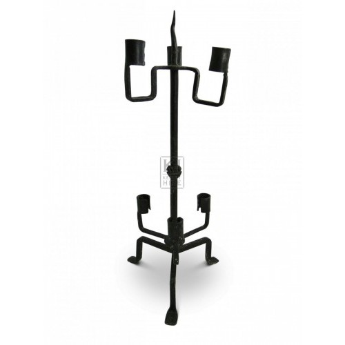 Iron Table Candelabra #4