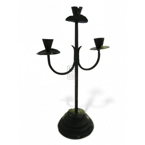 Iron Table Candelabra #6