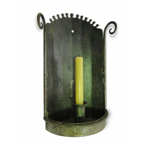 Single Iron Wall Candleholder #2