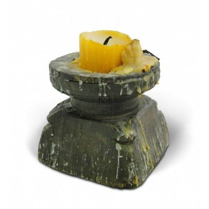 Wooden Candleholder #1