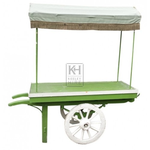 Small 2-wheel market handcart