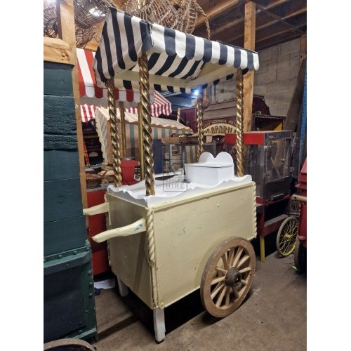 Old Fashioned Sweets cart