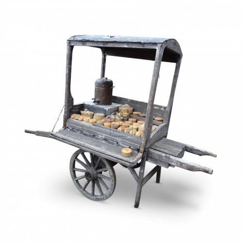 2 - Wheel Tea Hand Cart