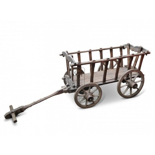 Small Wood Dog Cart