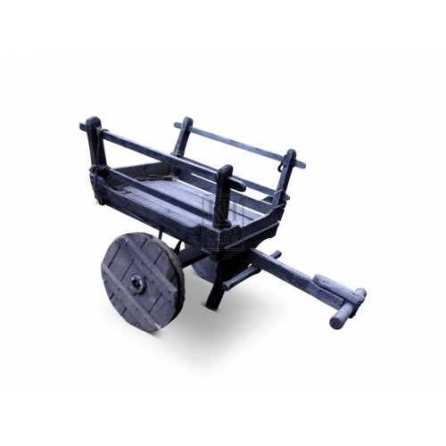 T-Handle Cart with Solid Wheels