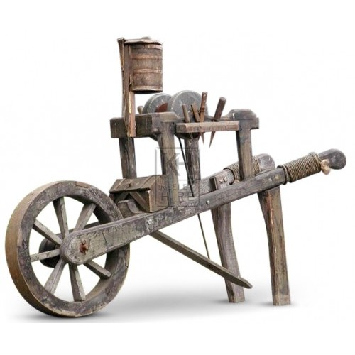 Early Knife Grinders Cart