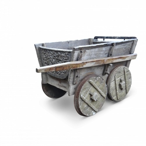 Hand Cart With 4 Solid Wheels