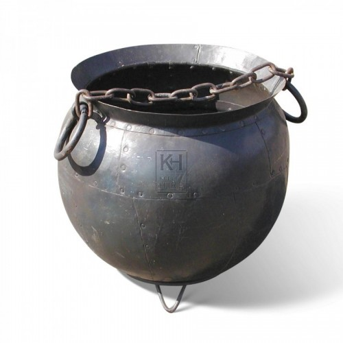 Cauldron With 2 Ring Handles