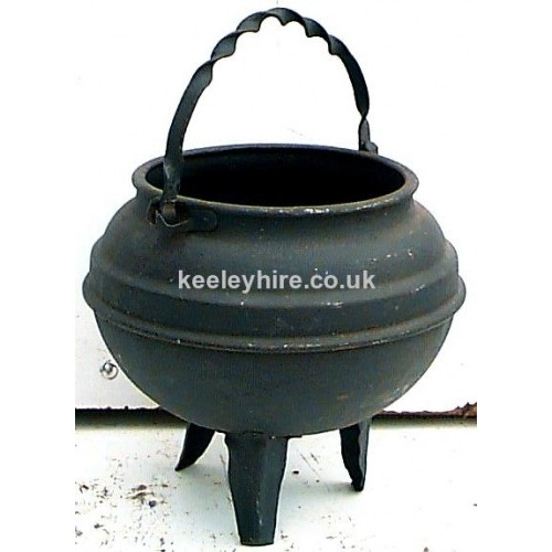 Cooking Pot On Legs