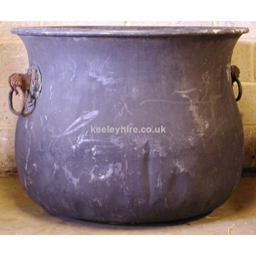Large Fibre Glass Cauldron