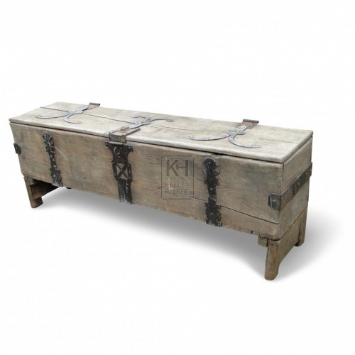 Large Narrow Coffer Chest
