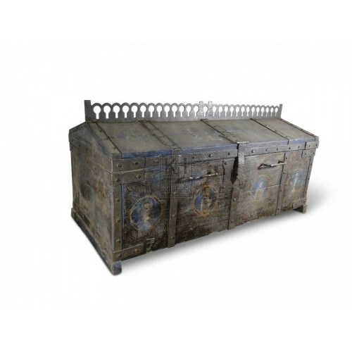Large Painted Coffer