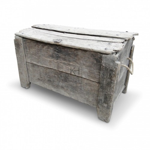 Large Old Coffer Chest
