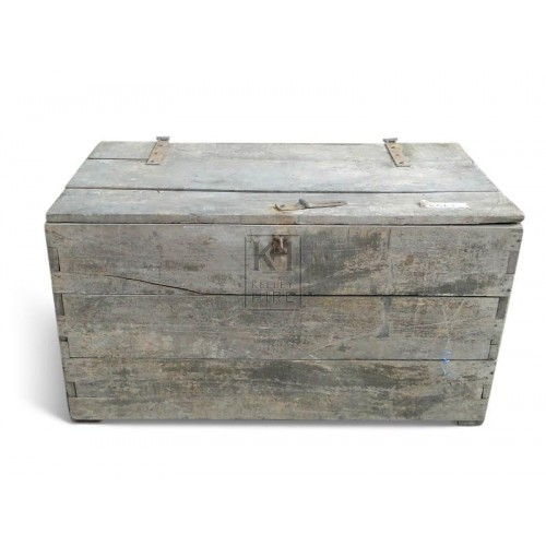 Bleached Wood Chest