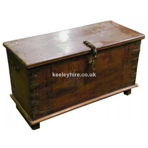 Varnished Wood Chest