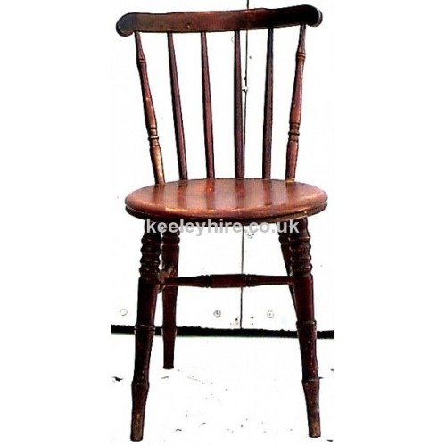 Spindle Back Chair with round seat