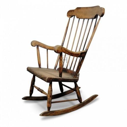 Low Wood Rocking Chair