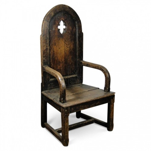 Rounded Top Bishops Chair