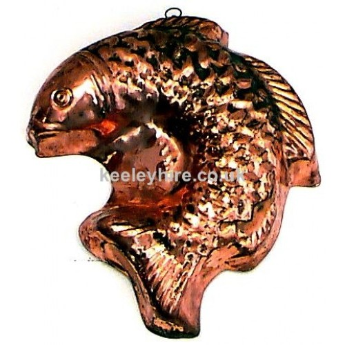 Copper Fish Mould