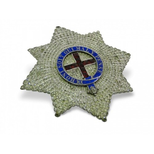 Jewelled Star Brooch