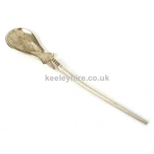 Small pewter spoon