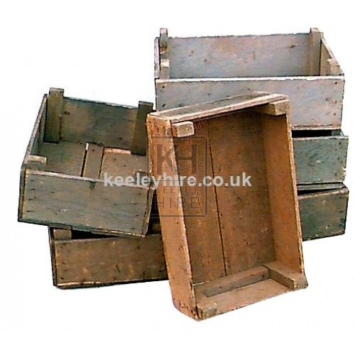 Shallow Wood Crates no2