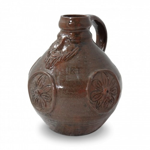 Pottery Jug with face #4