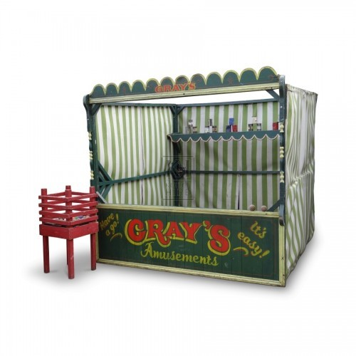 Fairground Tin Can Stall