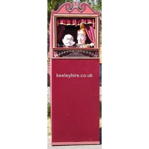 Maroon Punch & Judy Tent