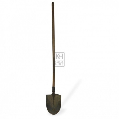 Long Handled Pointed Shovel